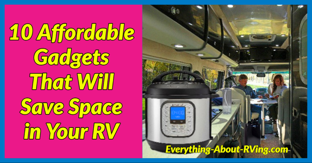 10 Affordable Gadgets That Will Save Space in Your RV