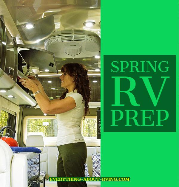 Spring RV Exterior Prep
