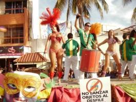 Carnival In La Paz Mexico