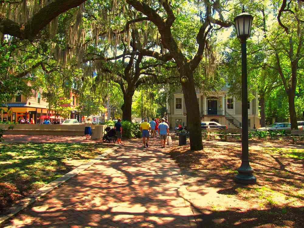 The Ultimate RV Road Trip On A Budget: Part I – East Coast Edition Savannah, Georgia