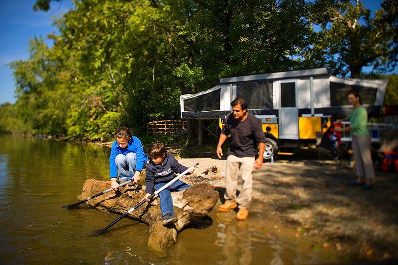 Choosing A Campsite