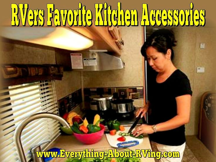 RVer's Favorite Kitchen Appliances