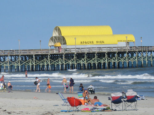 Apache Pier in Myrtle Beach South Carolina