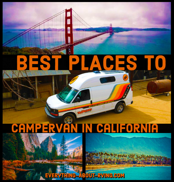 Best Places To Campervan In California