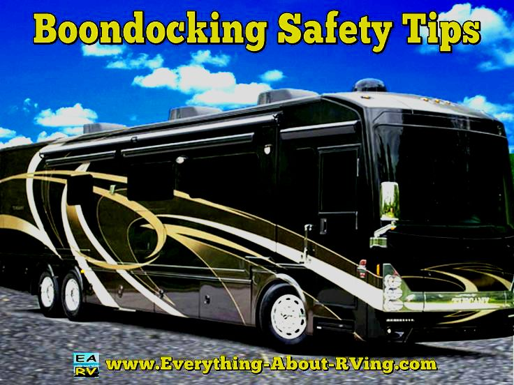 Boondocking Safety Tips