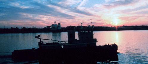 Louisiana Tugboat