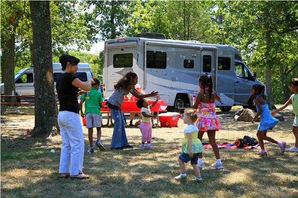 RV Family Camping