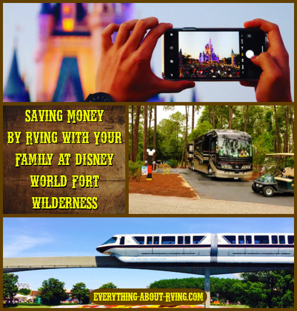 Saving Money by RVing with Your Family at Disney World Fort Wilderness