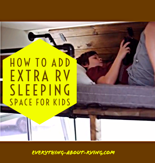 How to Add Extra RV Sleeping Space for kids