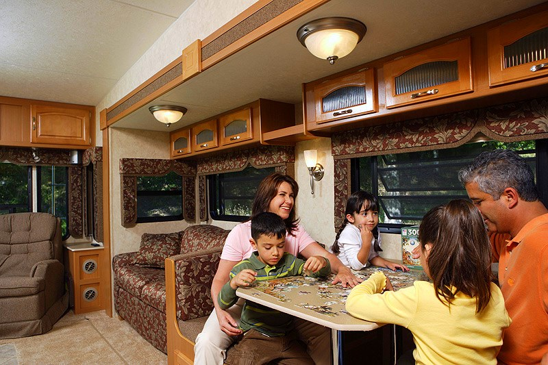 RVing With Kids on a Rainy Day