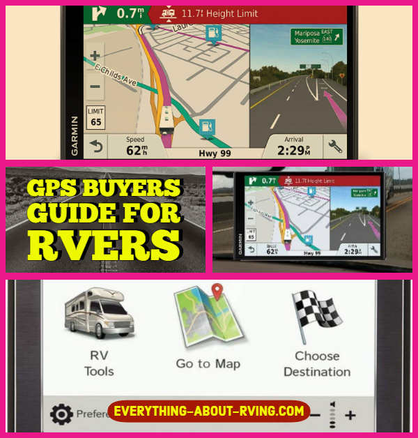 GPS Buyers Guide For RVers
