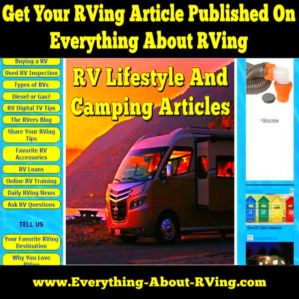 Submit An Article To Everything About RVing