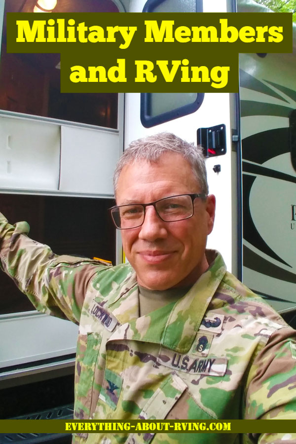 Military Members and RVing