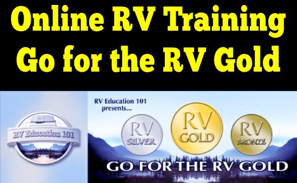 Online RV Training: Go for the RV Gold