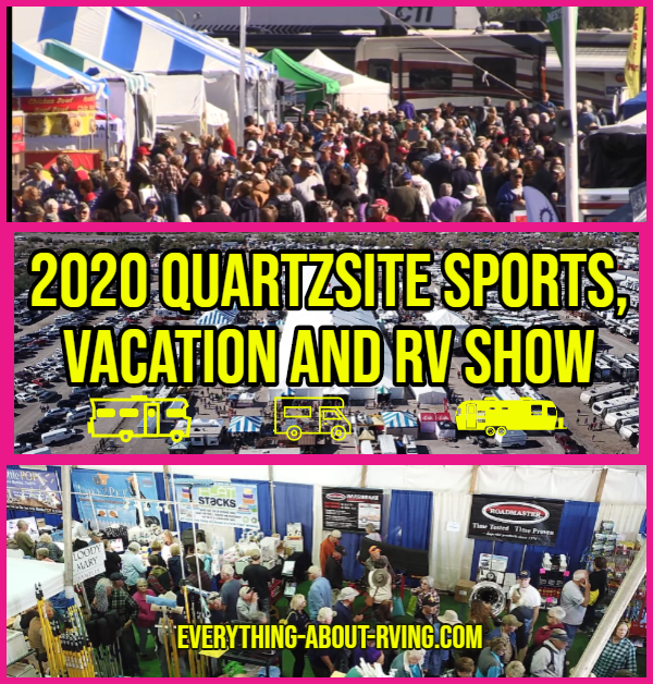 The Quartzsite Sports, Vacation and RV Show
