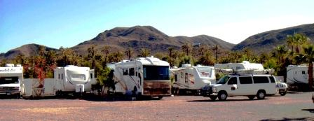 RV Park at the Hotel Serenidad