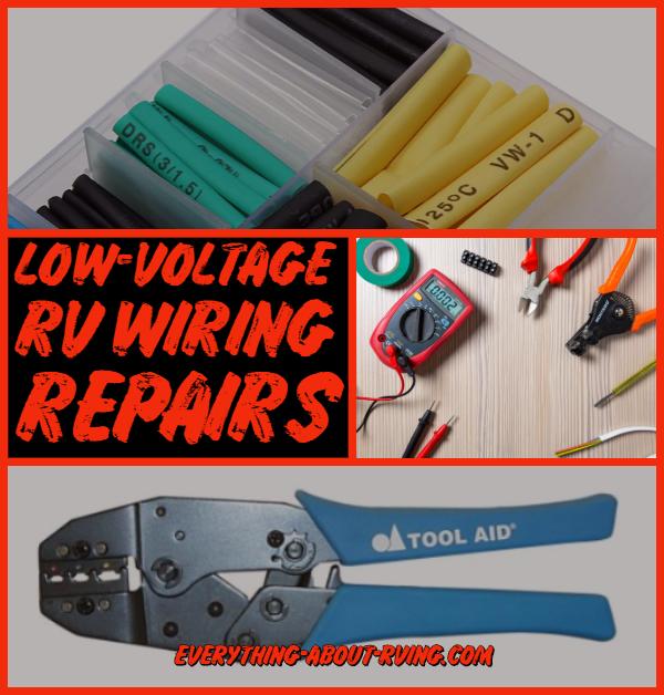 Low-Voltage RV Wiring Repairs