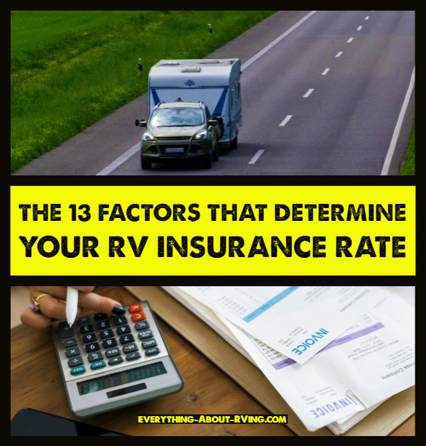 The 13 Factors that Determine Your RV Insurance Rate