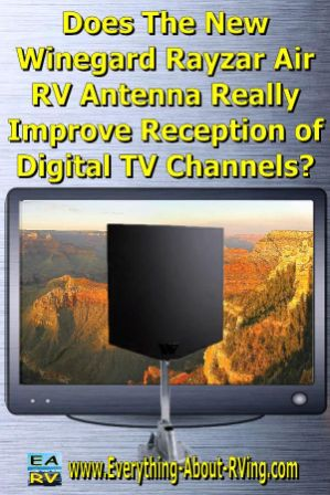 Does The New Winegard Rayzar Air RV Antenna Really Improve Reception of Digital TV Channels