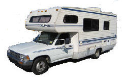 Is a 6 cylinder toyota mini motorhome powerful enough to go up hills