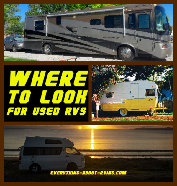 Where To Look For Used RVs