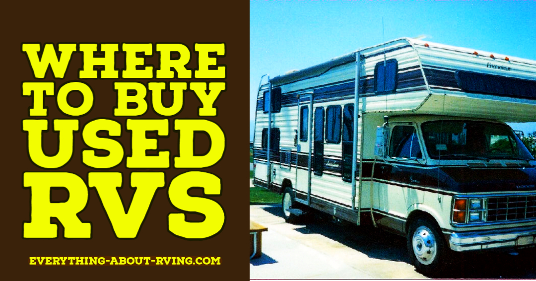 Where to Buy Used RVs