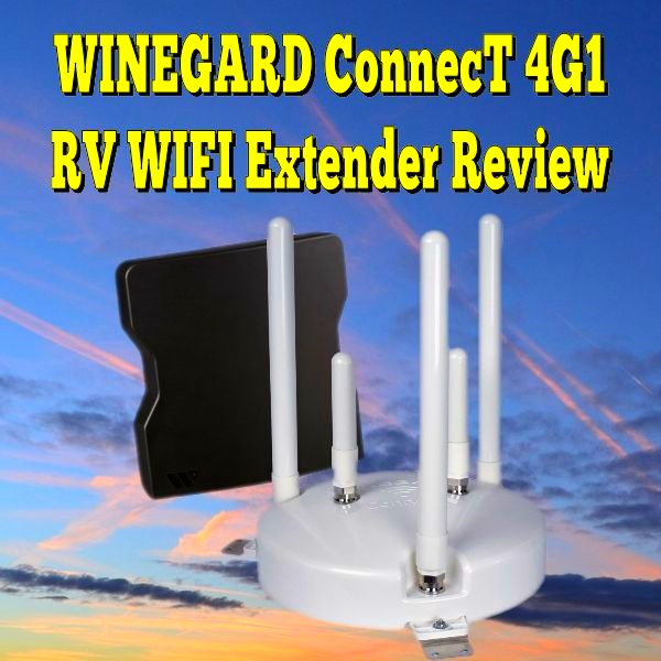 WINEGARD ConnecT 4G1 RV WIFI Extender Review