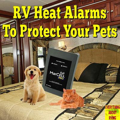 RV Heat Alarms to Protect Your Pets