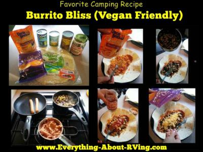 Burrito Bliss (Vegan Friendly)