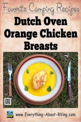 Dutch Oven Orange Chicken Breasts