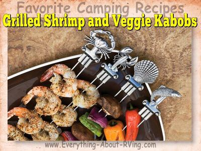 Grilled Shrimp and Veggie Kabobs