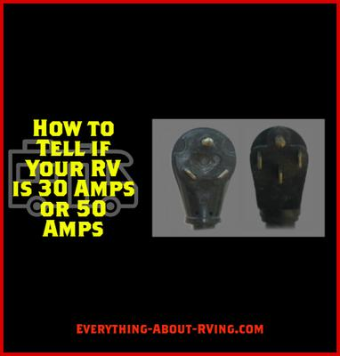 How to Tell if Your RV is 30 Amps or 50 Amps