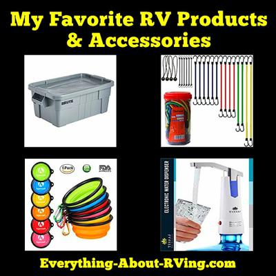 My Favorite RV Products & Accessories
