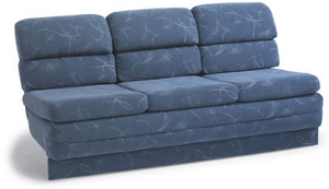 Pictured Flexsteel Armless Sleeper Couch