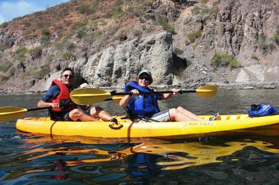 Kayaking is popular from Juncalito