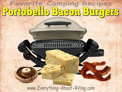 Portobello Bacon Burgers