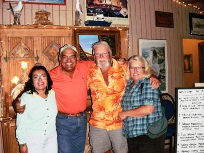 Favi & Ray Lima, Dan & Lisa Goy