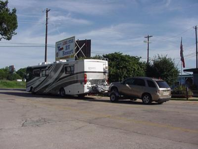 Leaving Lone Star RV Resort