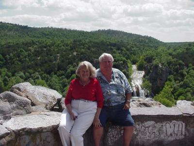 Us at Turner Falls