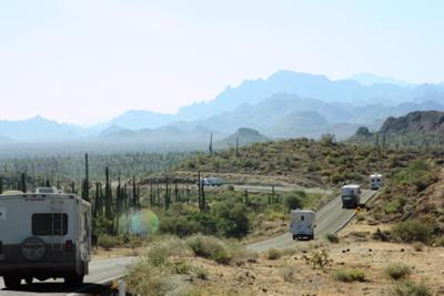 On The Road With Baja Amigos, Spectacular Scenery