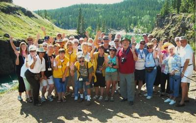 RV Caravan our Group; Alaskan Dicovery RV Caravan Tour Group