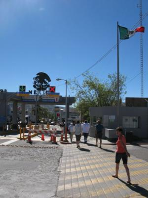 Crossing At Tecate