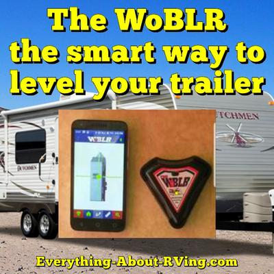 The WoBLR the smart way to level your trailer