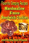 Marshmallow S'more Sandwich Cookies
