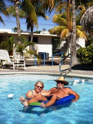Lisa and Dan Goy enjoying Cabo
