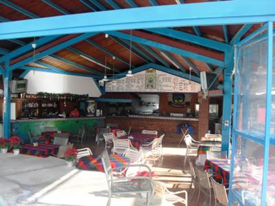 Inside The Vagabundos Restaurant