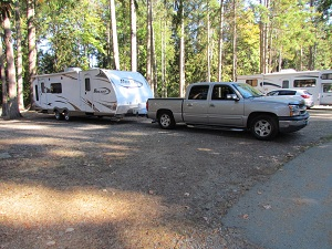 RVing on Vancouver Island