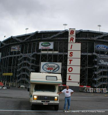 Jerry & Our Rig at Bristol