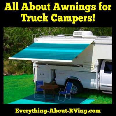 All About Truck Camper Awnings