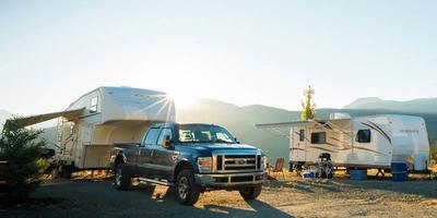 RVing at Whistler RV Park